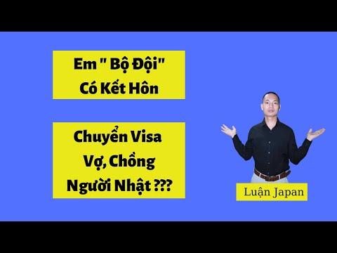 """Thực Tập Sinh Làm """"Bộ Đội"""" Có Kết Hôn Với Người Nhật Chuyển Visa Được Không    Luận Japan"""
