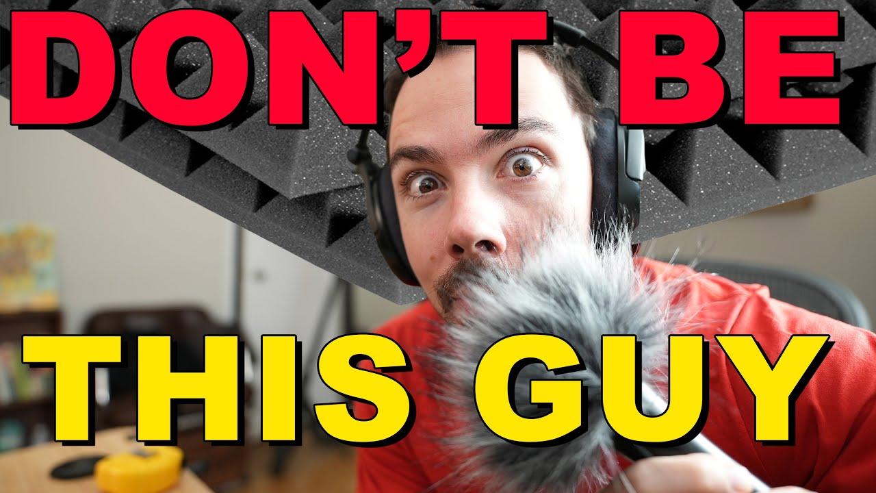 Youtubers Who Take Audio Way Too Seriously