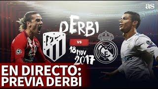 Atlético de Madrid-Real Madrid: Previa del derbi desde el Wanda Metropolitano
