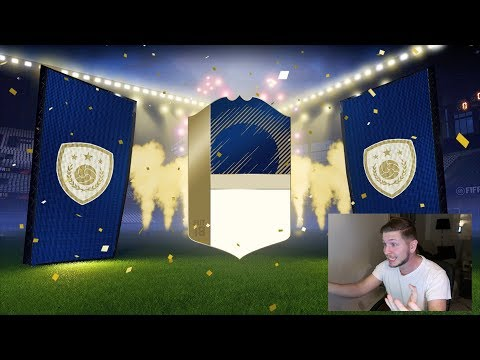 I PACKED A TOP ICON!! AMAZING TOP 100 FUT CHAMPIONS WEEKLY REWARDS