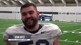 Penn State Football | Monday Media: Ryan Bates