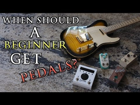 When Should Beginners Start Getting Pedals?