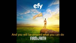 EFY 2013  - The Right Place (Lyric video)
