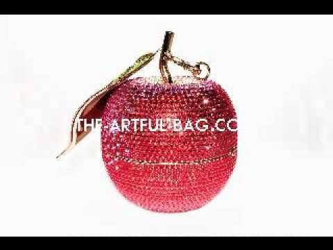 Swarovski Apple Clutch Bag - The Forbidden Fruit  from www.the-artful-bag.com