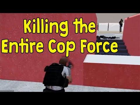 Arma 3 MetropolisRP - Killing the Entire Cop Force