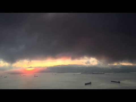 Gibraltar Sunset Timelapse - iMap.gi