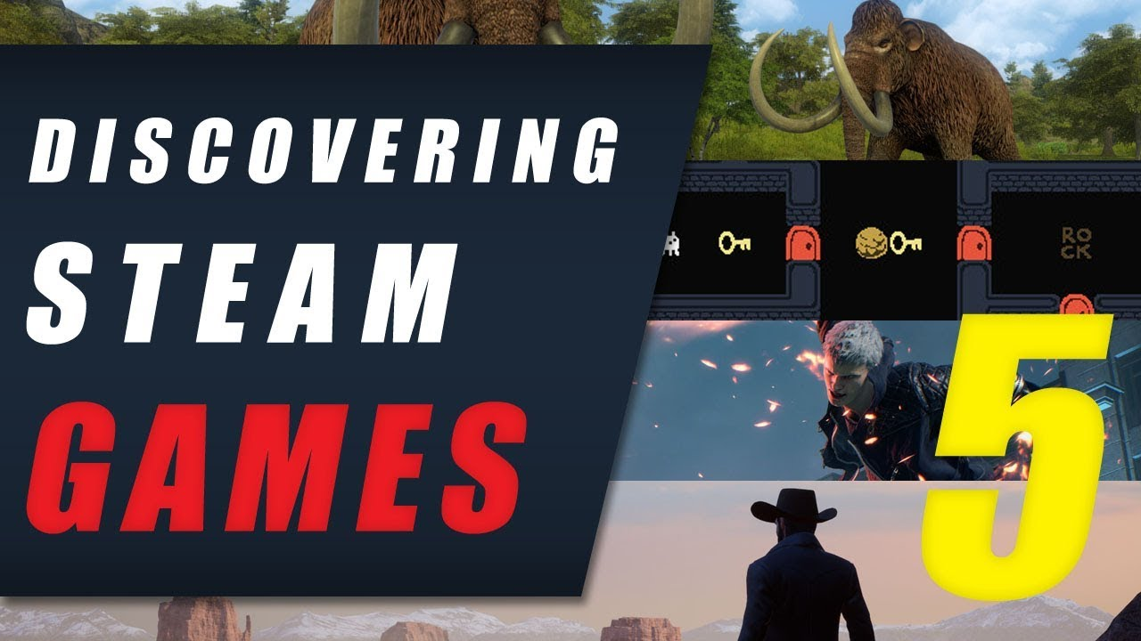 Video - Discovering Steam Games EP 5 • Devil May Cry 5, Baba