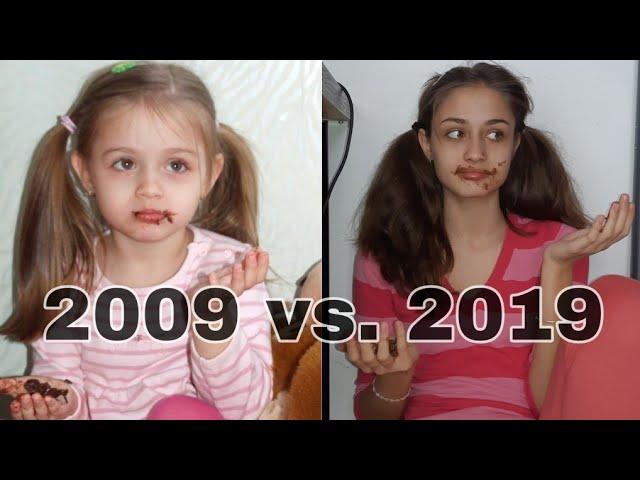 2009 vs. 2019 - recreez poze cu mine de acum 10 ani+