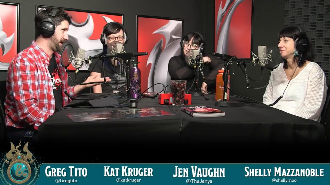 Dragon Talk: Kat Kruger & Jen Vaughn from d20 Dames, 2/12/18