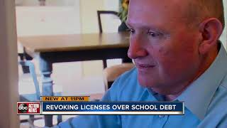 Florida suspends 909 licenses over student loan defaults