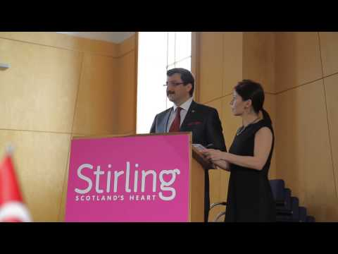 Stirling welcomes Turkish sister city Kecioren (Ankara Province)  -  English Language Version