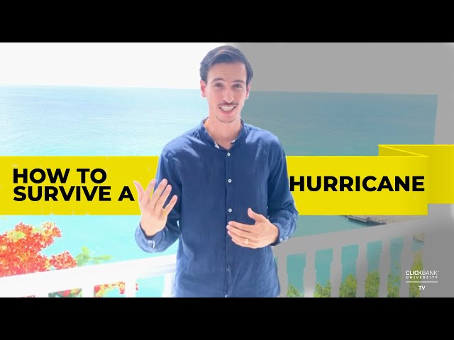 How to withstand a hurricane (in your online business)...