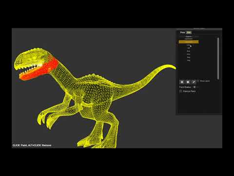 2D Character Animation from a 3D Mesh