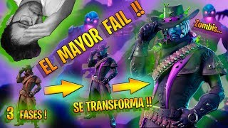 *FORTNITE'S HIGHEST FAIL* NEW SKIN MORTAL SHOOTING!! * THE 3 FASES!! * | Vicjetor