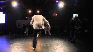Sally Brush Up  Vs Masato Asche  Best8 / Dance@live 2016 Hiphop Kanto Vol.04