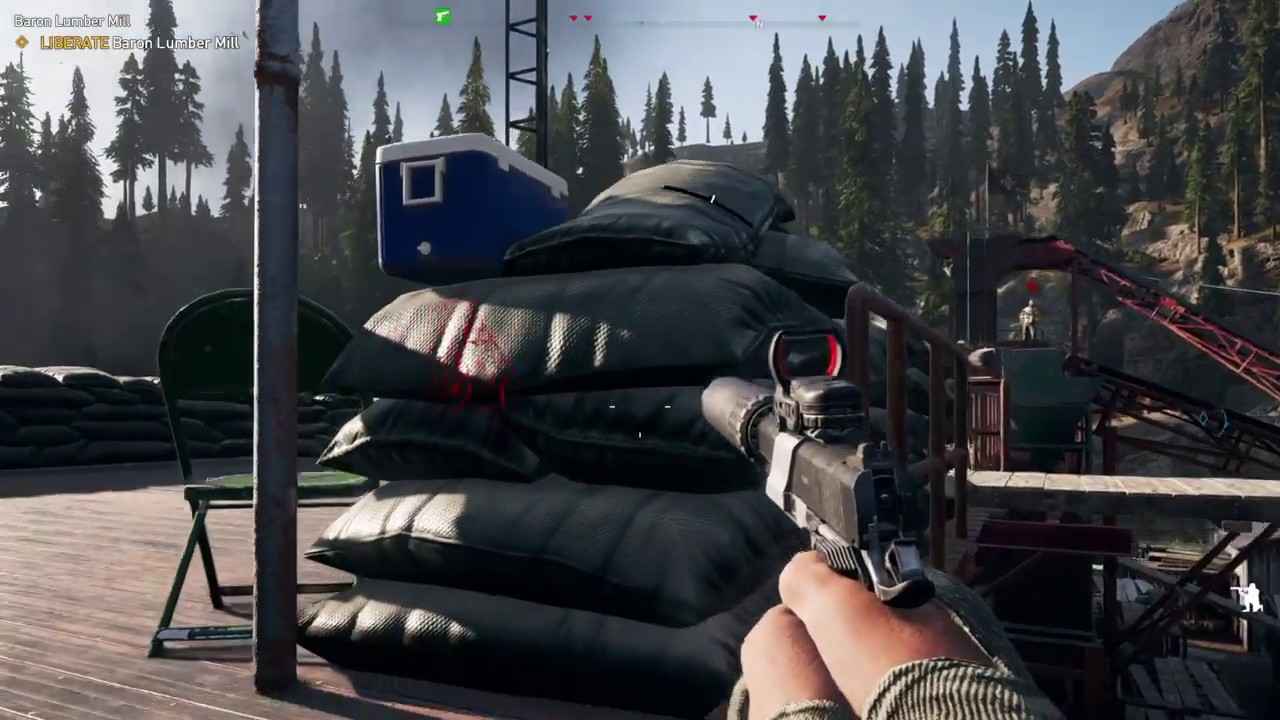 Barron Lumber Mill - Far Cry 5 [ Complete mission ] NO ALARMS RAISED