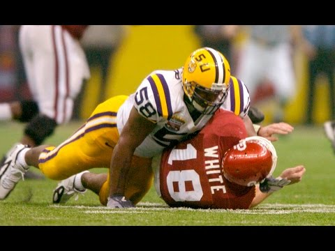 January 4, 2004 - BCS National Championship Sugar Bowl - #2 Oklahoma vs #1 LSU