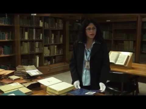 Ex-libris en la colección de la Biblioteca Luis Ángel Arango