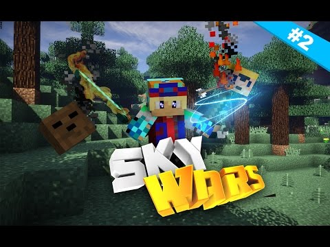 A LOT OF LAG SPIKES IN THIS RECORDING I BLAME FRAPS | Minecraft Sky Wars #2