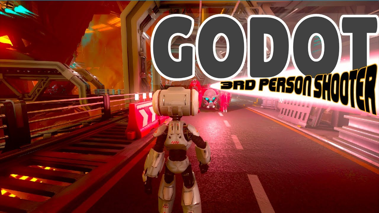 Godot 3 1 Awesome 3rd Person Shooter Demo (Free and Open Source)