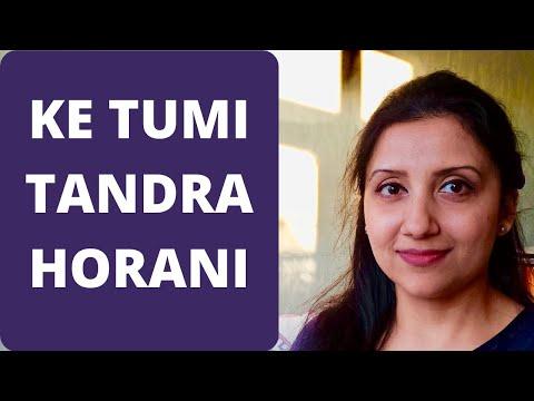 Bengali song - Ke Tumi Tandra horoni by Priti Kaur