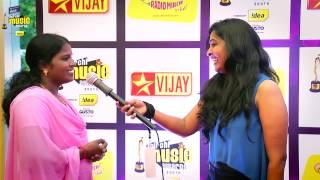 MIRCHI MUSIC AWARDS SOUTH 2014 – PAZHANIYAMMAL ON THE RED CARPET OF MIRCHI MUSIC AWARDS 2014 Vijay tv 06-09-2015