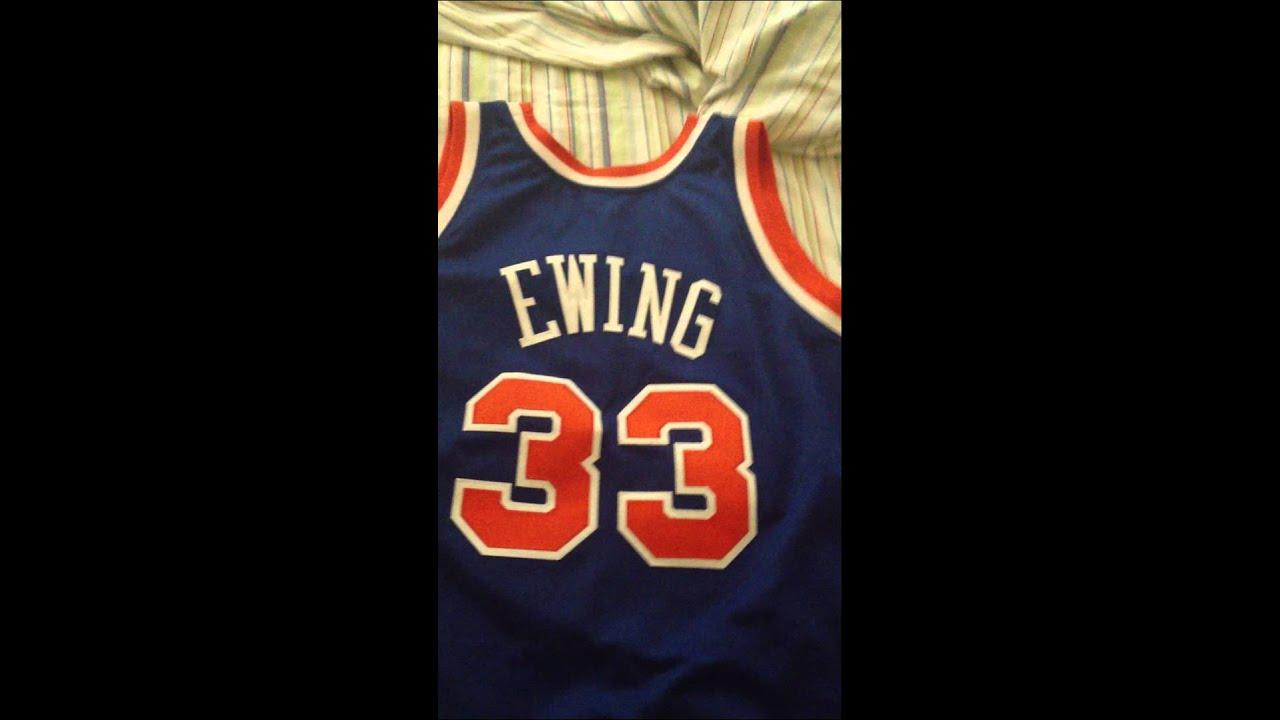 12b57750 Mitchell & Ness NBA Throwback Jersey Pickups #33 Scottie Pippen & # 33  Patrick Ewing