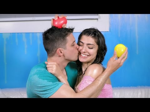 Messy Water Balloon Boyfriend Tag!