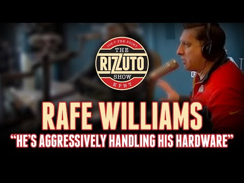 Rafe Williams had an encounter at the CHIEFS game, 'Young Grandpa' release, more [Rizzuto Show]
