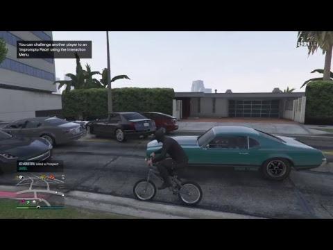 GTA5 Online killing   ran dom people LIVE