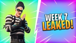 "*NEW* WEEK 7 ""ROADTRIP"" CHALLENGES LEAKED! - Fortnite: Battle Royale"