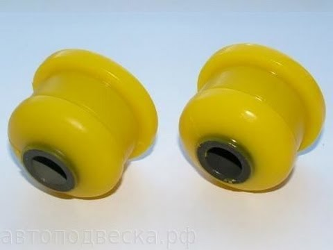 Замена на полиуритановые саленблоки передней балки  ваз 2108 2110 2170 Приора Калина