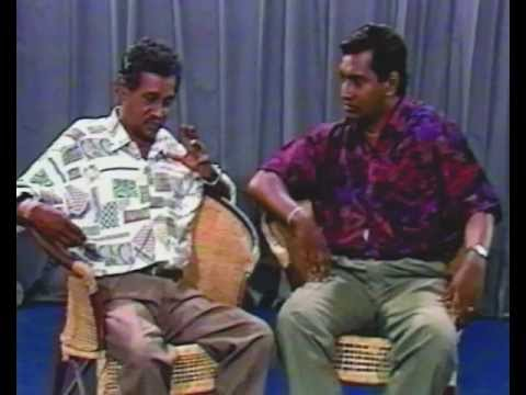 Great Comedian Freddy Silva With Announcer Harsha Wickramasinghe ..