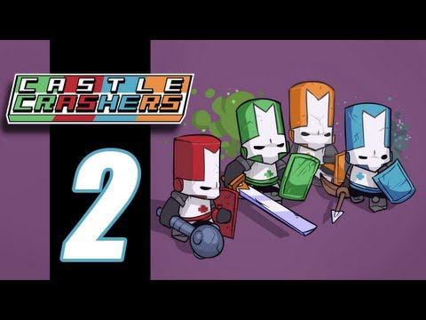 Castle Crashers With Friends - EP02 - One Tough Catfish