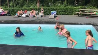 Aquajoggen op Recreatiepark De Voorst
