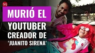 Murió Héctor Mickeith, el youtuber detrás de 'Juanito Sirena'; así lo anunció Werever