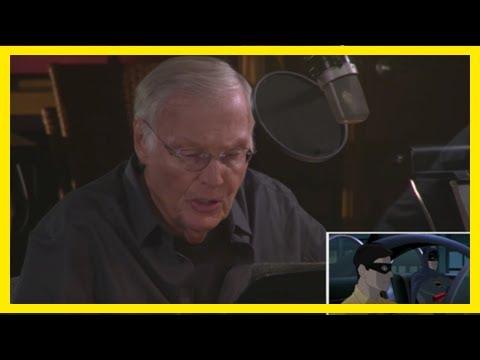 Breaking News   Batman vs two-face clips show adam west's last work as batman