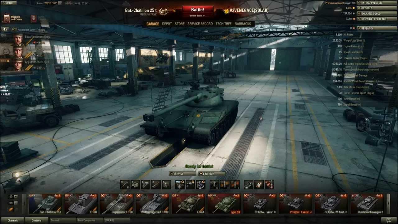 World of Tanks - Bat.-Châtillon 25 t AP Review & Guide ...