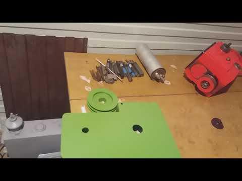 Токарный станок тв 7 (сальники в коробку скоростей)