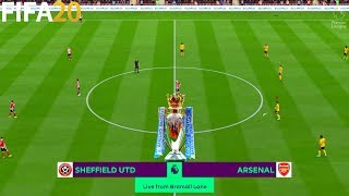 Sheffield United vs Arsenal - Premier League - Full Gameplay | FIFA 20