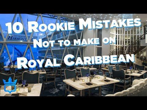 Royal Caribbean Rookie Mistakes To Avoid!