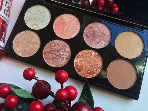 how to use contour blush palette
