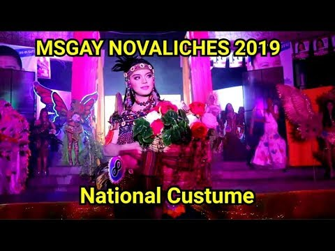 MISS GAY NOVALICHES PART 2 NATIONAL CUSTUME