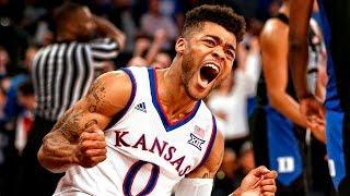 Mason's late heroics sink No. 1 Duke // Kansas Basketball // 11.15.16