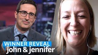 Jennifer is Meeting John Oliver at Last Week Tonight!