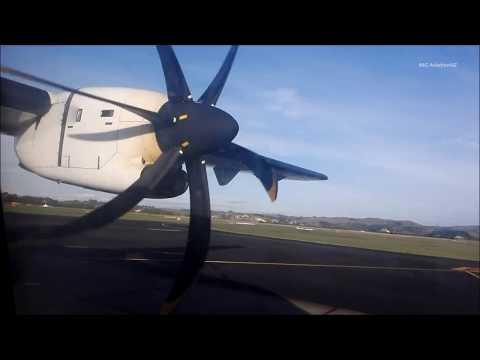 Full Flight Air New Zealand ATR 72-600 Napier to Wellington