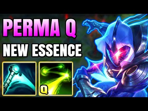 NEW ESSENCE ON MASTER YI MAKES HIM HAVE PERMA Q?? HE'S NOW URF MODE IN REAL GAMES!!