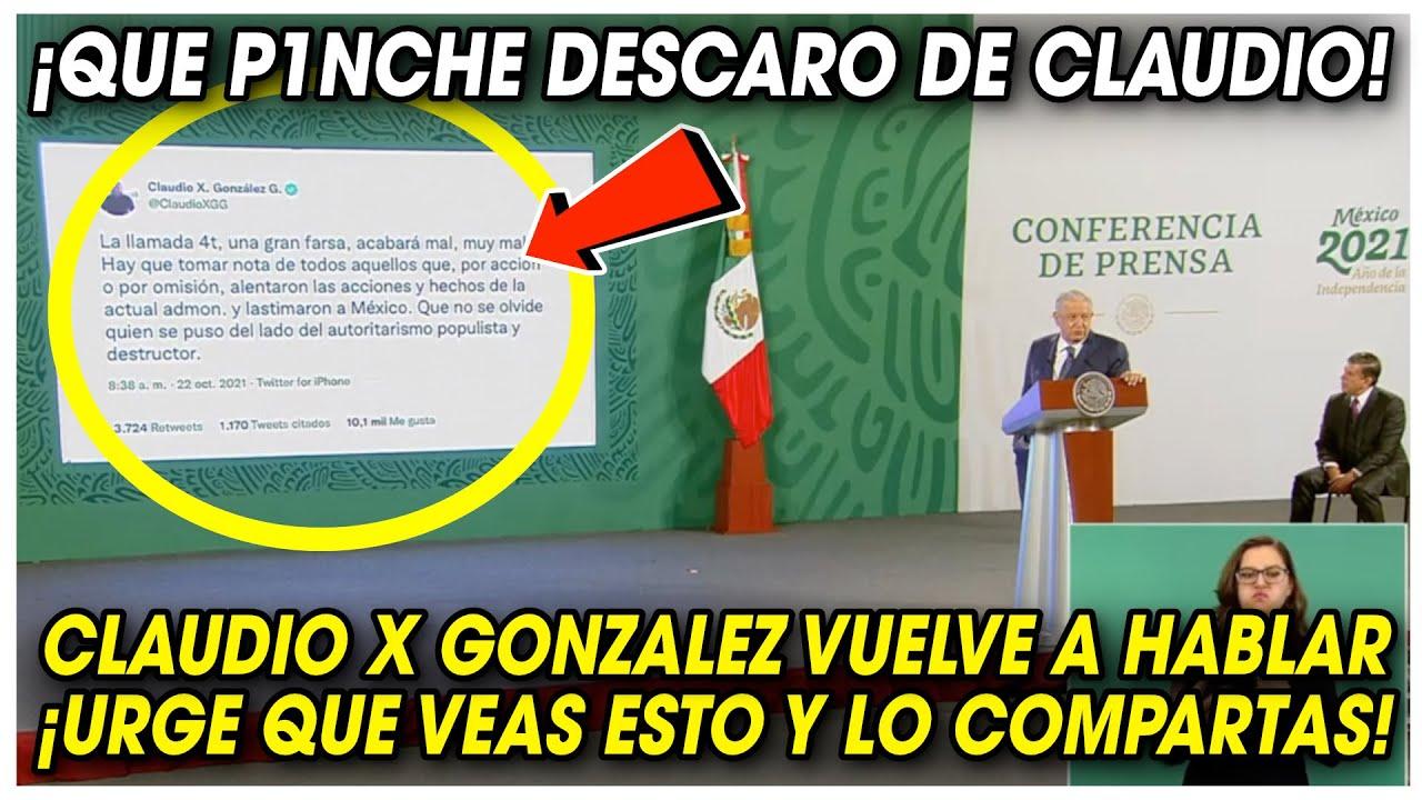 ¡Que P1NCHE DESCAR0! AMLO EXHlBE a CLAUDIO X GONZALEZ ¡URG3NTE COMPARTIR!