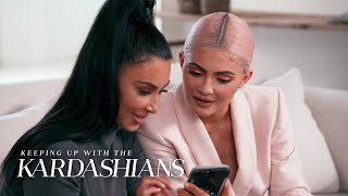 During Kylie's visit to Kim's house, the expecting mother shows her an ultrasound of her unborn son. Plus, someone seems to be leaking the baby news...but ...