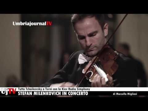 Tutto Tchaikovsky a Terni con la Kiev Radio Simphony Orchestra concerto con  Stefan Milenkovich